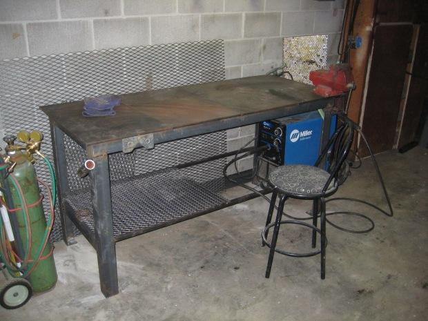 welding bench plans